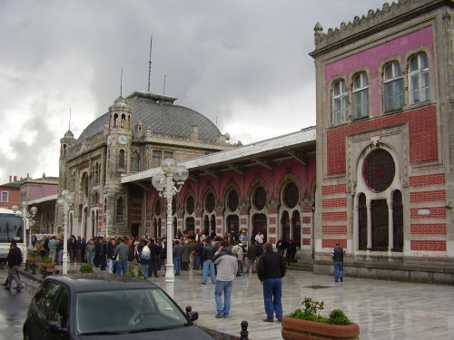 Istanbul's Sirkeci station 2010