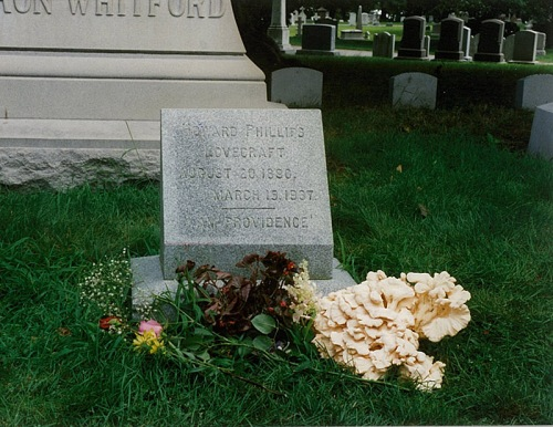 H.P. Lovecraft's grave, Providence