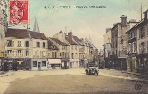 Place de la Gare, circa 1923