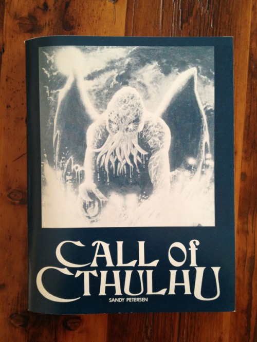 Call of Cthulhu, 1st Edition