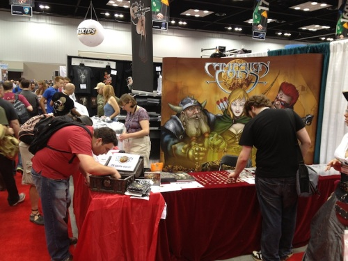 Campaign Coins at GenCon Indy 2013