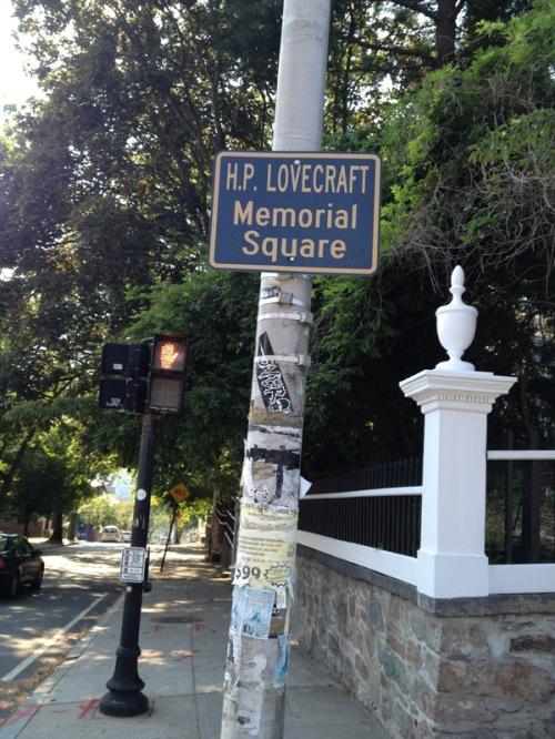 H.P. Lovecraft Memorial Square