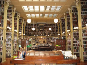 Providence Athenaeum - ground floor