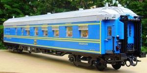 Henrik Lego train exterior