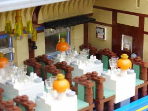 Henrik Hoexbro Lego train interior, courtesy of the Brothers Brick website