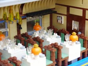 Henrik Hoexbro Lego train interior, courtesy of the Brothers Brick website