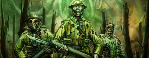 World War One Cthulhu image (c) 2011 Red Wasp Design for The Wasted Land computer game