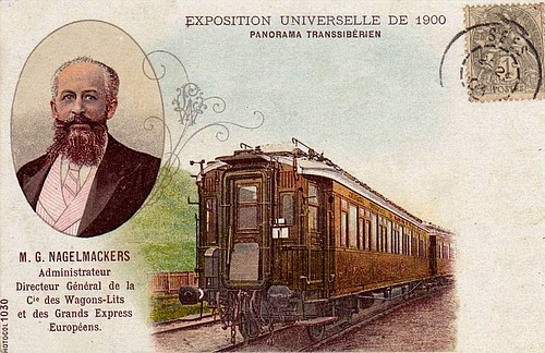Georges Nagelmackers and his train