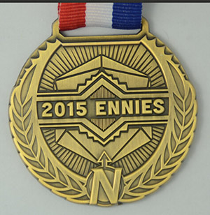 ENnies medal (designed by Daniel Solis, made by Campaign Coins)