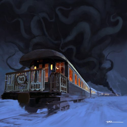 Horror on the Orient Express by tohdraws (Deviantart)