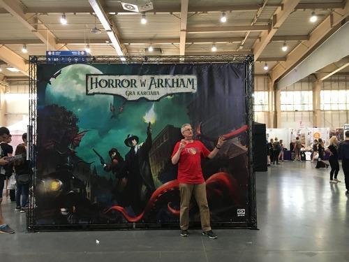 Horror w Arkham Gra Karcianna