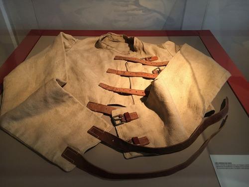 Old straitjacket