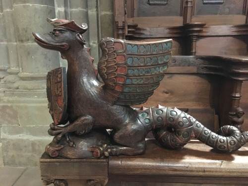 Wood carving - St Peters