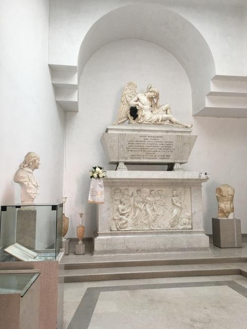 Johann Winckelmann monument